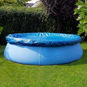Magicjinx Outdoor Inflatable Swimming Pool Anti-exposure Anti-crack Round Family Water Park Pool for Children Adults