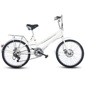 22/24 Inch Retro Double Disc Brake Speed Bike