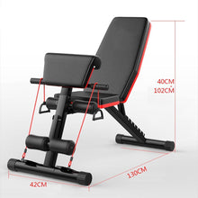 Load image into Gallery viewer, Magicjinx New Multifunctional Folding Dumbbell Bench, 7 Gear Backrest, Abdominal Training Bench, Weight Lifting Training Equipment