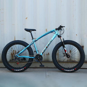 26IN Shock-Absorbing Fat Tire Mountain Bike