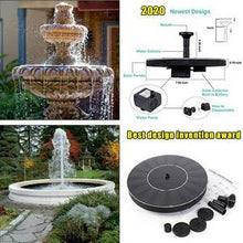 Load image into Gallery viewer, Spring Solar Powered Bionic Fountain