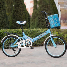 Load image into Gallery viewer, 20 Inch Safety Folding Ladies/Children's Bicycle (With Free Basket)