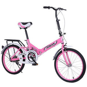 20 Inch Safety Folding Ladies/Children's Bicycle (With Free Basket)