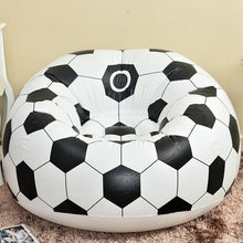 Load image into Gallery viewer, Inflatable Lazy Football Basketball Sofa Outdoor Activities Single Sofa