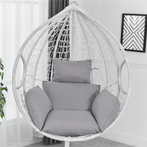 Hanging Egg Hammock Chair Cushion Swing Seat Cushion Thick Nest Hanging Chair Back with Pillow