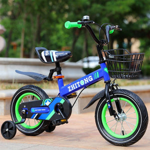 Magicjinx Kids' Mountain Bike 12/14/16/18 inch Boys and Girls with High Carbon Steel Frame