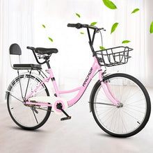 "Load image into Gallery viewer, 22-24"" Lady Bike (Kid Seat Can Be Added)"