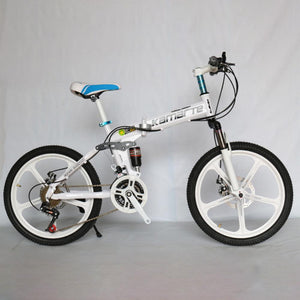 Magicjinx 20 Inches Children Folding Mountain Bike