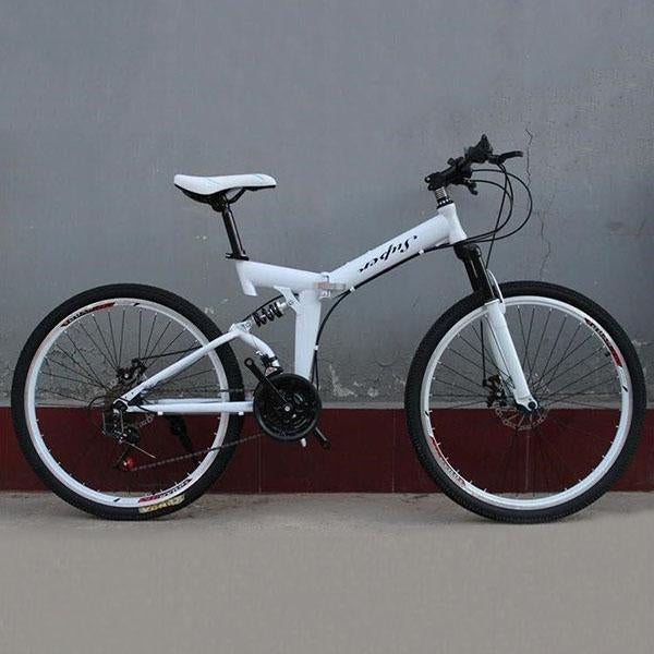 26 inch adult/child foldable variable speed bicycle