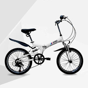 20 inch 6-speed light travel mountain adult bicycle