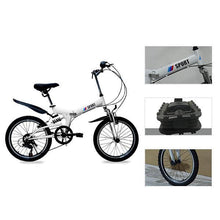 Load image into Gallery viewer, 20 inch 6-speed light travel mountain adult bicycle