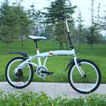 Load image into Gallery viewer, 20 Inch Folding Speed Adult Bicycle