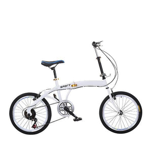 20 Inch Folding Speed Adult Bicycle