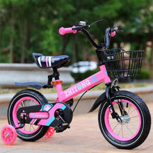 Load image into Gallery viewer, Magicjinx Kids' Mountain Bike 12/14/16/18 inch Boys and Girls with High Carbon Steel Frame