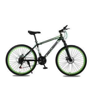 Mountain Bike for Men Women, 26in Carbon Steel 21 Speed Bicycle