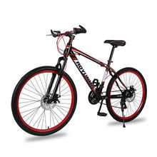 Load image into Gallery viewer, Mountain Bike for Men Women, 26in Carbon Steel 21 Speed Bicycle