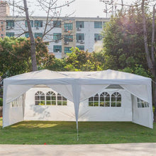 Load image into Gallery viewer, 3 x 6m Four Windows Practical Waterproof Folding Tent White (Delivery in 3~7 days)