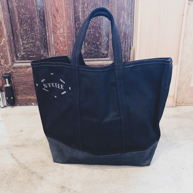 #188 bottom leather black 8inch handle