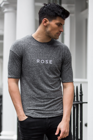 CARTER GREY Muscle Fit Half Sleeve Tee