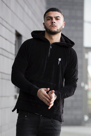 NICO Drop Shoulder Velour hoodie