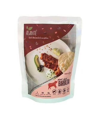 Plant-based Barbacoa Meat 12.3oz (4 portions) - AsantePlantBased