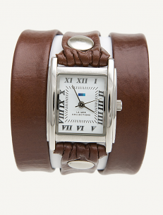 Brown Wrap Watch
