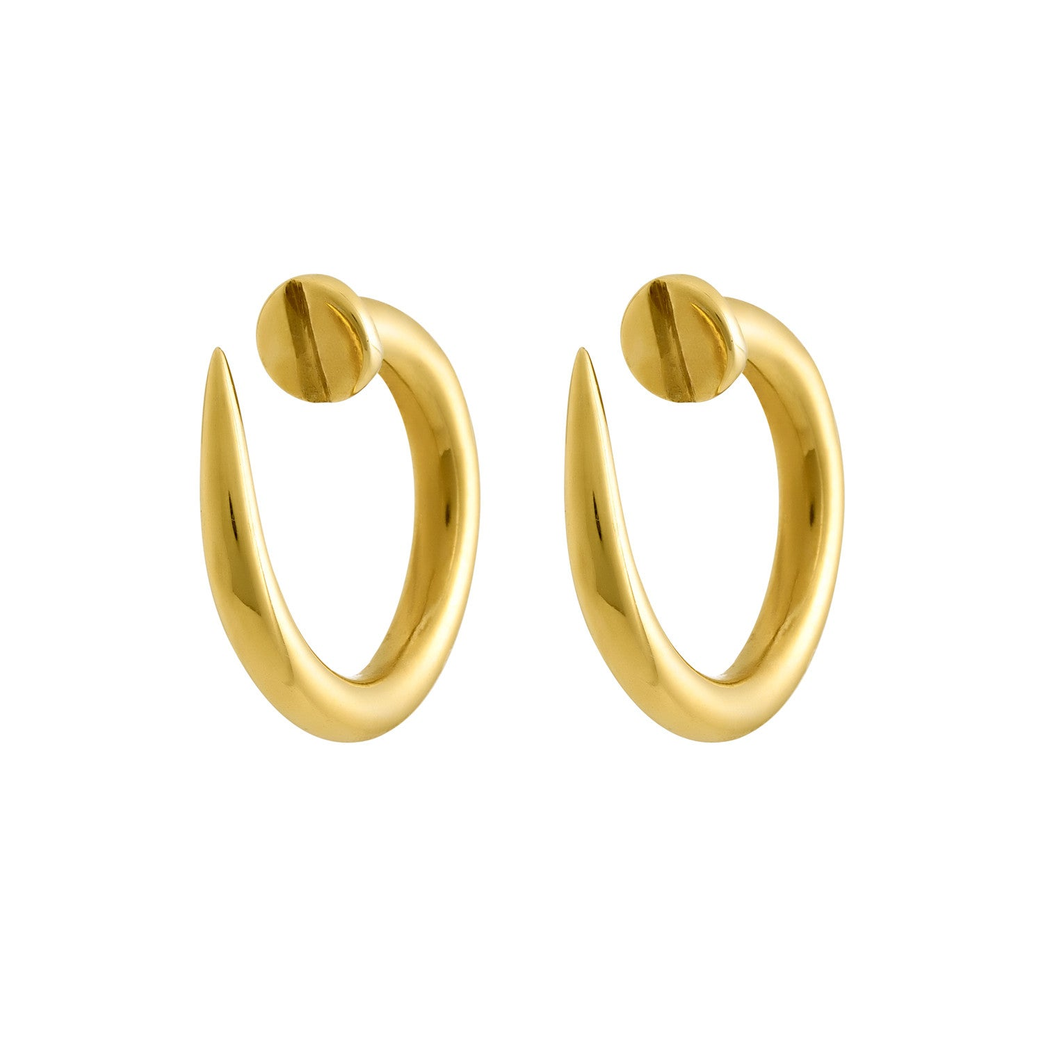 Coco\'s Liberty: Nail it earrings   Jewelry -  Hiphunters Shop
