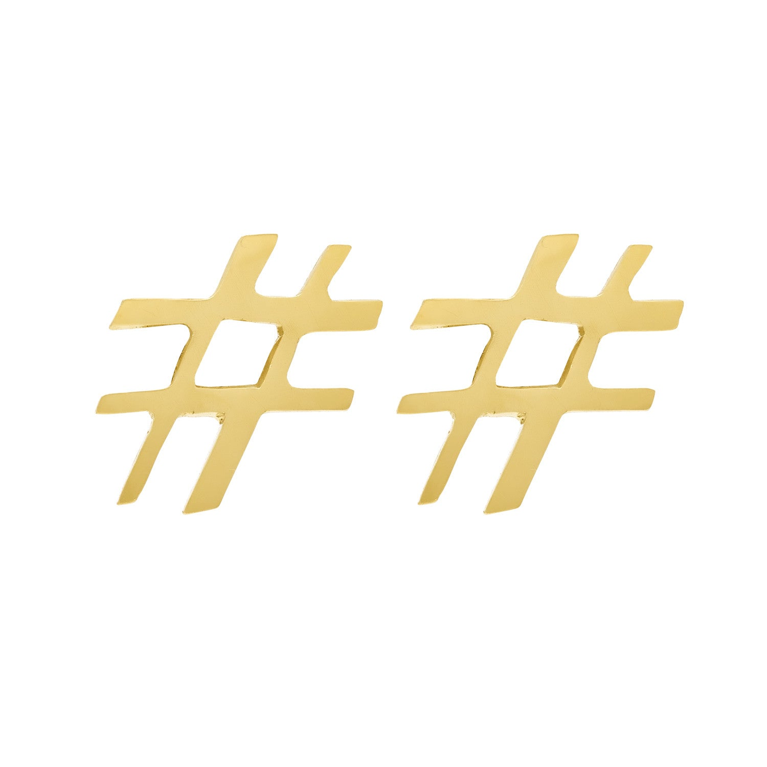 Coco\'s Liberty: Hashtag earrings   Jewelry -  Hiphunters Shop