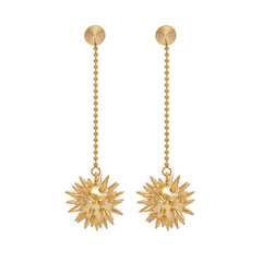 Morning Star Earrings - Looking good is the best Revenge!