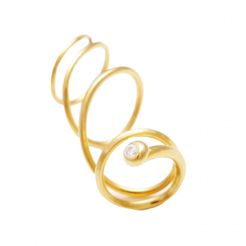 Coco\'s Liberty: The luxe spiral ring | Jewelry,Jewelry > Rings -  Hiphunters Shop