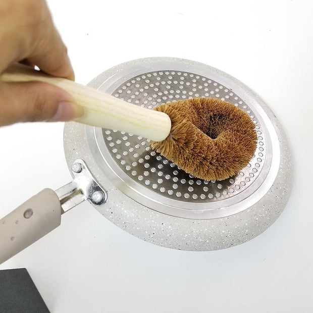 Coconut Fiber Washing Brush