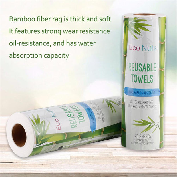 Reusable Bamboo Towel