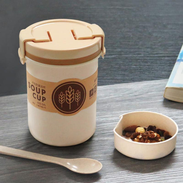 Wheat Straw Leakproof Cup