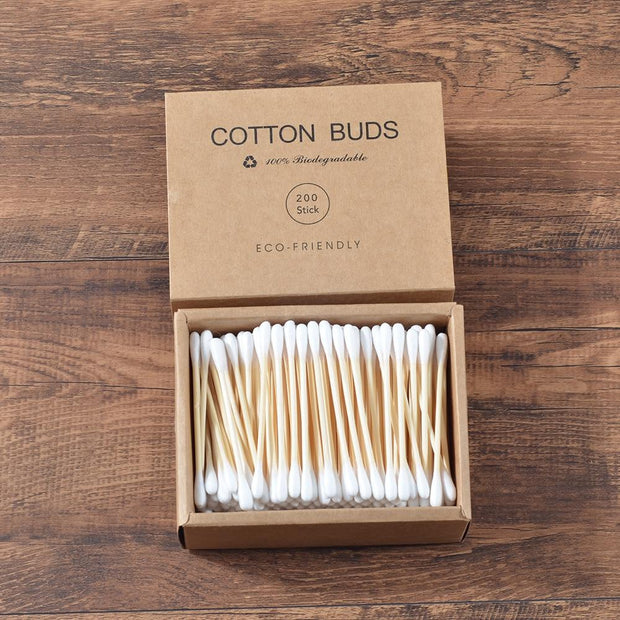 Soft Cotton Bamboo Ear Sticks