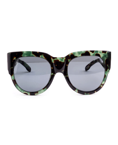 DECO - GREEN TORTOISE SHELL