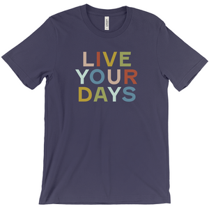 Live Your Days Navy