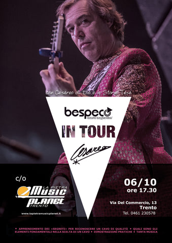 Bespeco in tour by Cesareo