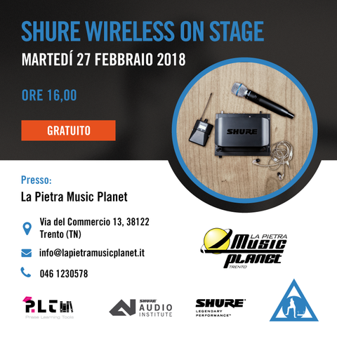 Shure wireless training