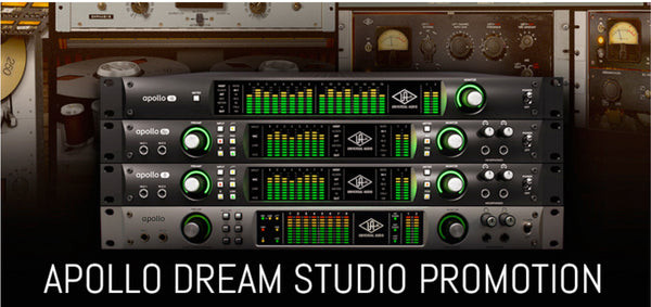 Promozione Universal Audio Apollo Q2 Dream Studio