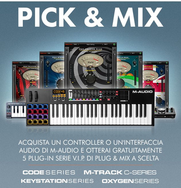 M-AUDIO Pick & Mix