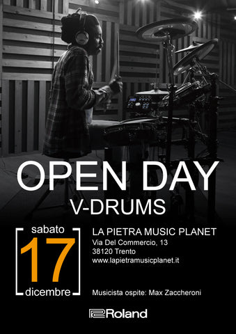 Roland V-Drum Open day