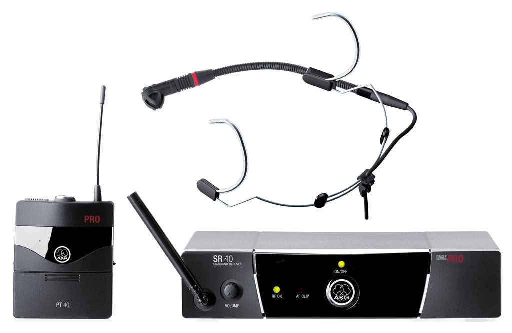 AKG Wms40set pro sports - La Pietra Music Planet