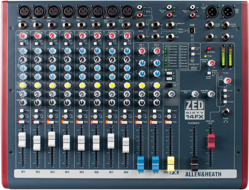 ALLEN&HEATH ZED60 14FX - La Pietra Music Planet