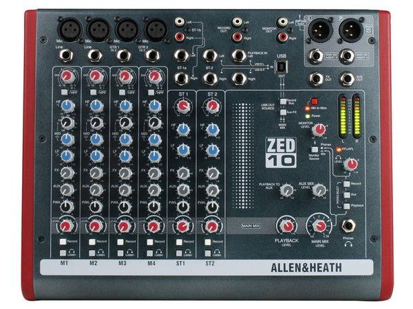ALLEN&HEATH Zed10 - La Pietra Music Planet