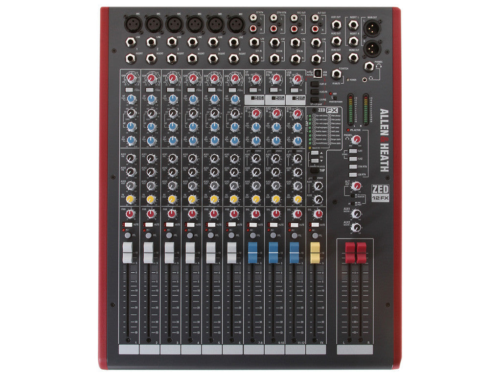 ALLEN&HEATH ZED12FX - La Pietra Music Planet