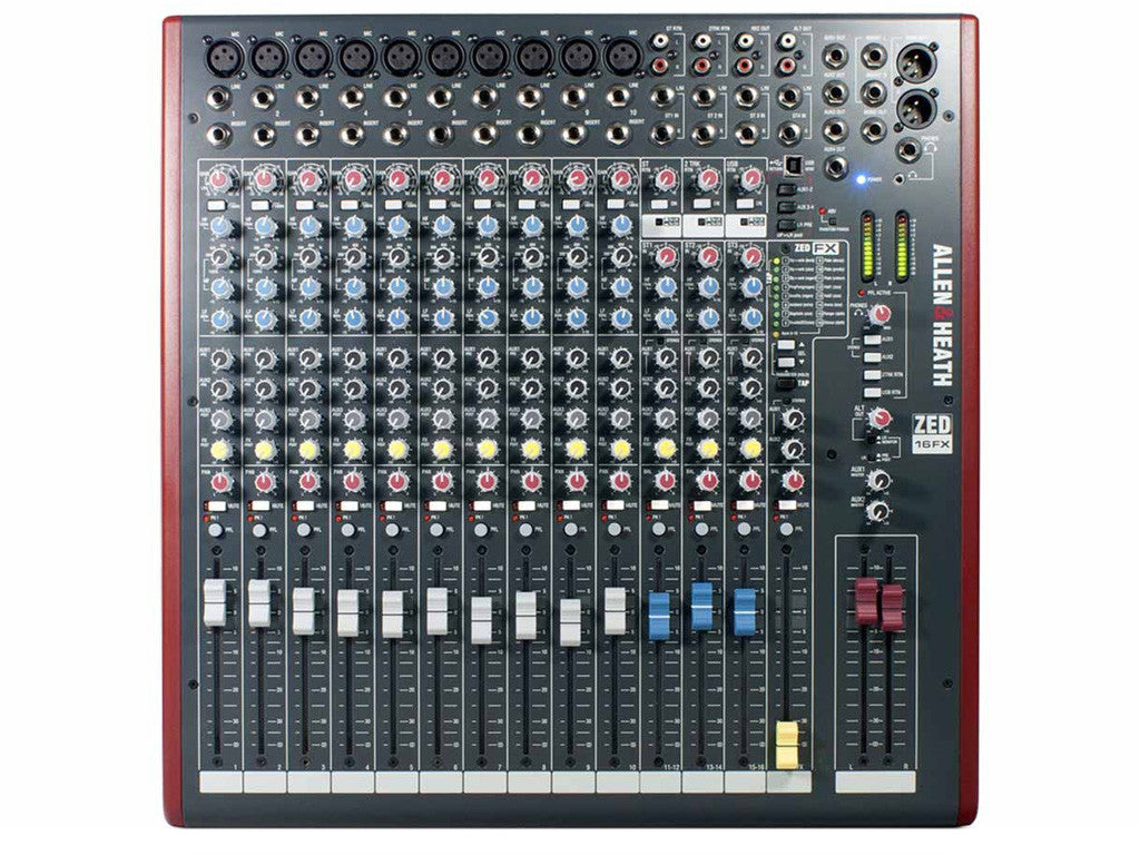 ALLEN&HEATH ZED16FX - La Pietra Music Planet