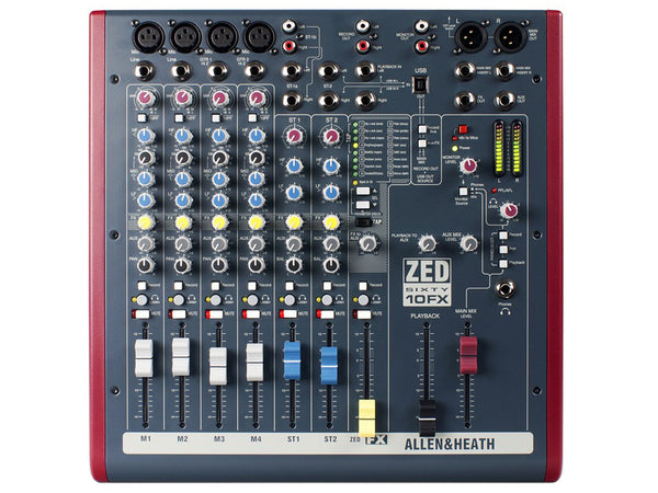 ALLEN&HEATH ZED60 10FX - La Pietra Music Planet