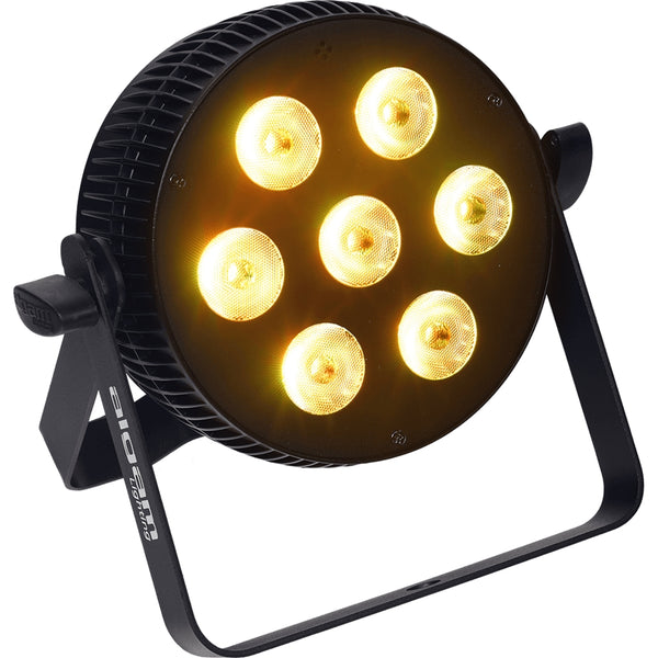 ALGAM LIGHTING SLIMPAR 710 QUAD Proiettore Par LED 7x10W RGBW