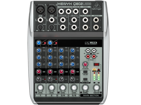 BEHRINGER Q802Usb - La Pietra Music Planet