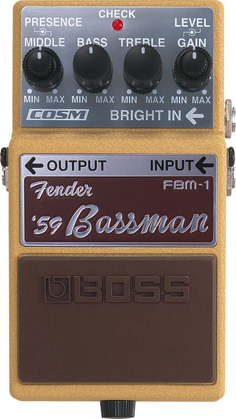 BOSS FBM1 '59 Fender BassMan - La Pietra Music Planet